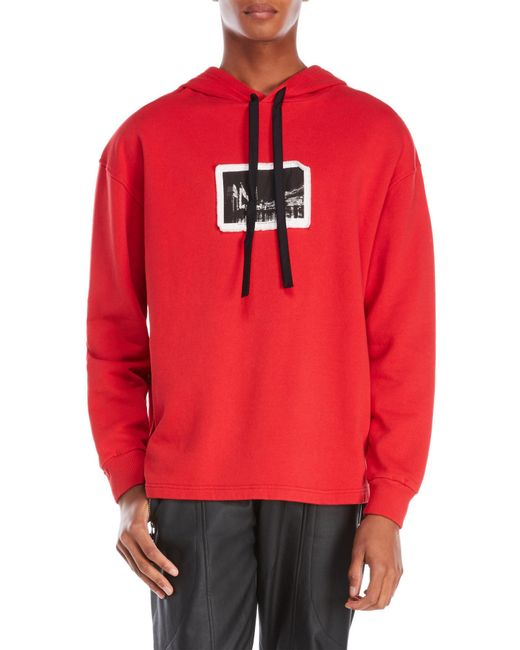 Blood Brother | Red City Patch Hoodie for Men | Lyst