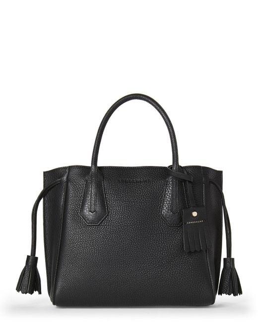 Longchamp - Black Small Penelope Tote - Lyst