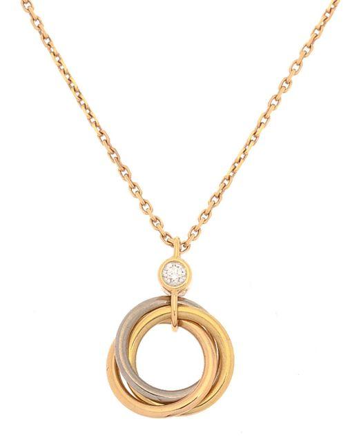 Cartier - Metallic Trinity Necklace - Vintage - Lyst