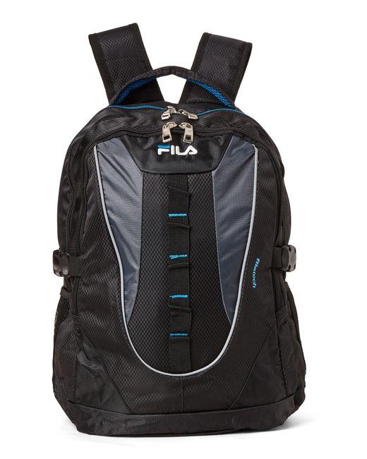 Lyst - Fila Black   Blue Ryder Laptop Backpack in Black for Men
