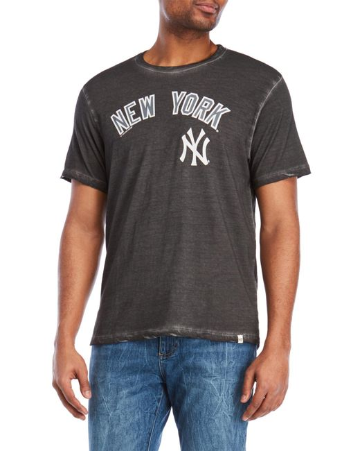 47 Brand - Black New York Yankees Tee for Men - Lyst