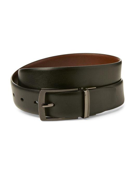 Perry Ellis - Black & Brown Reversible Belt - Lyst