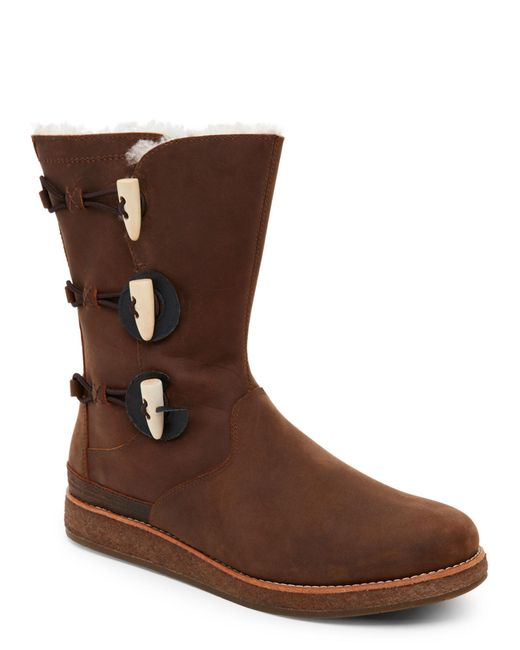 Ugg   Brown Chocolate Kaya All-Weather Boots   Lyst