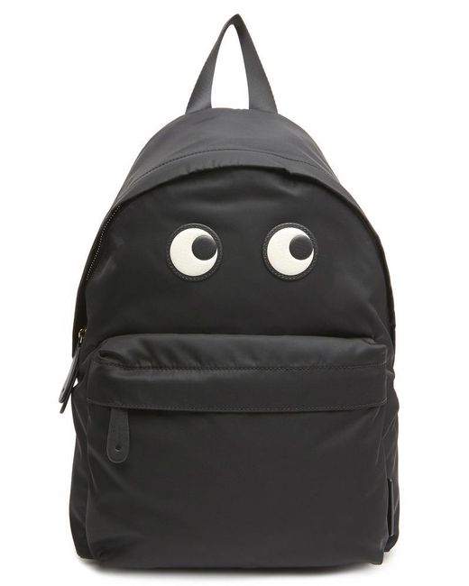 Anya Hindmarch - Black Eyes Backpack - Lyst