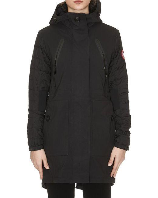 Canada Goose - Black Sabine Coat - Lyst