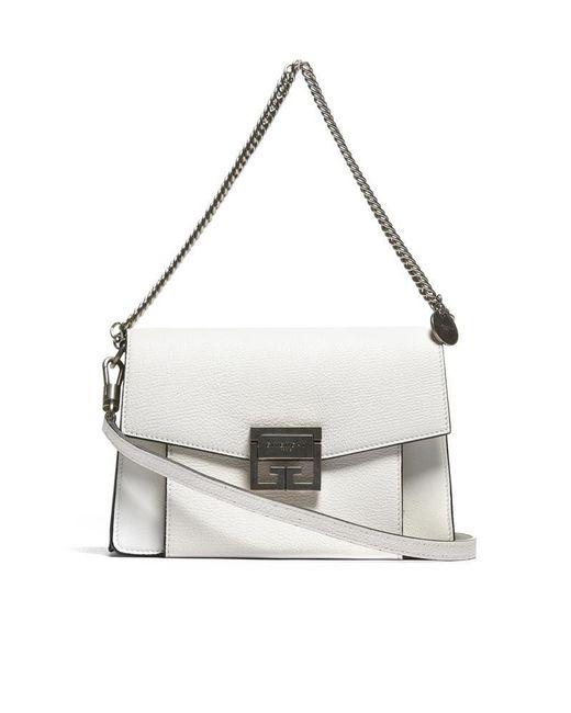 Givenchy - White Gv3 Shoulder Bag - Lyst