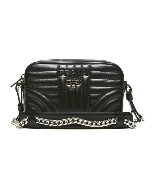 5a1a5a15e706 ... 50% off prada black diagramme mini camera bag lyst 11118 78253