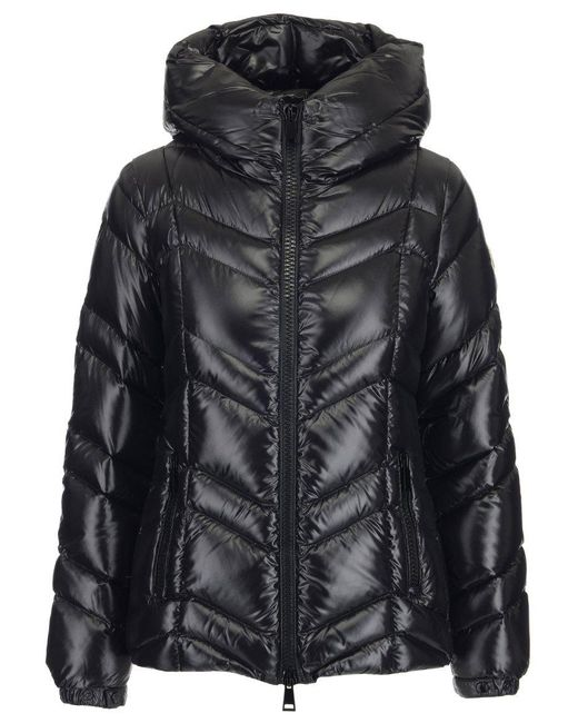 Moncler - Black High Neck Puffer Jacket - Lyst