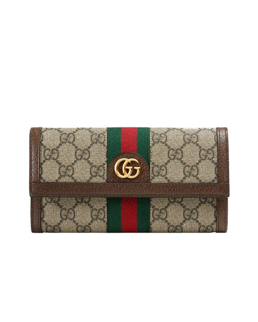 Gucci - Multicolor GG Continental Wallet With Three Little Pigs - Lyst