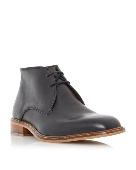 Bertie | Black Condor Contrast Stitch Chelsea Boots for Men | Lyst