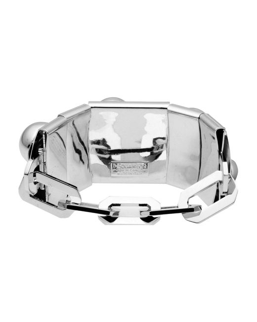 DSquared²   Metallic Bracelet   Lyst