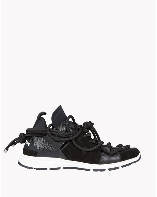 DSquared²   Black Bungy Jump Sneakers for Men   Lyst