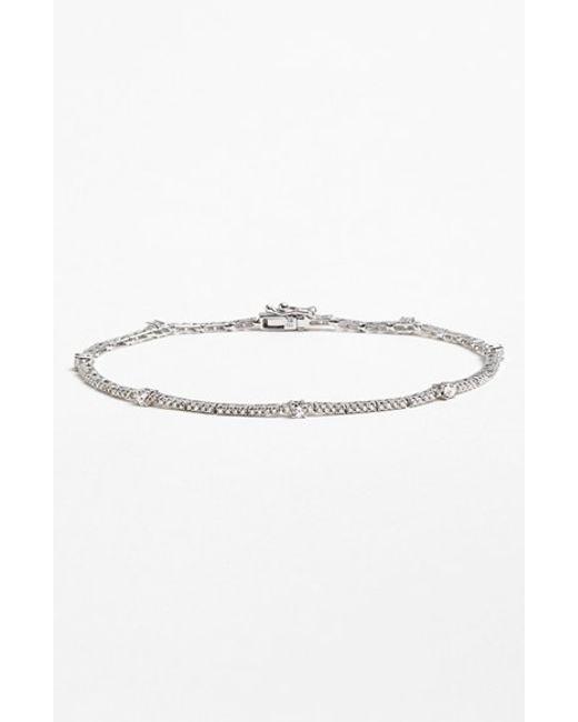 Bony Levy | Metallic 'linea' Diamond Line Bracelet (nordstrom Exclusive) | Lyst