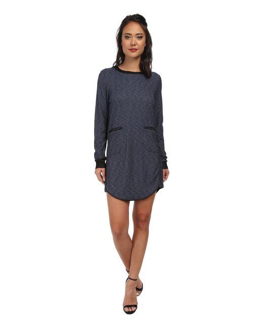 BCBGeneration | Blue Contrast Binding Dress | Lyst