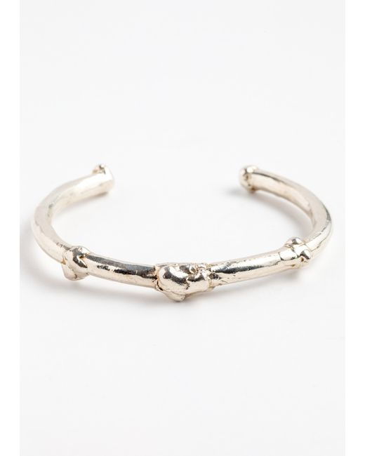 ali grace jewelry bone design textured detailing rounded