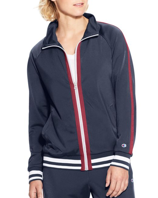 Champion - Blue Track Jacket - Lyst