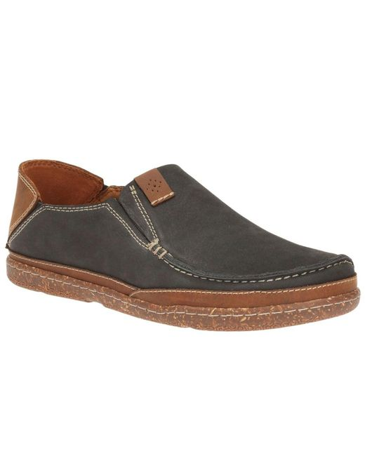 Clarks   Brown Trapell Form Mens Casual Shoes for Men   Lyst