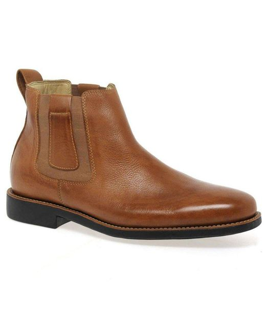 Anatomic & Co - Brown Natal Mens Leather Chelsea Boots for Men - Lyst