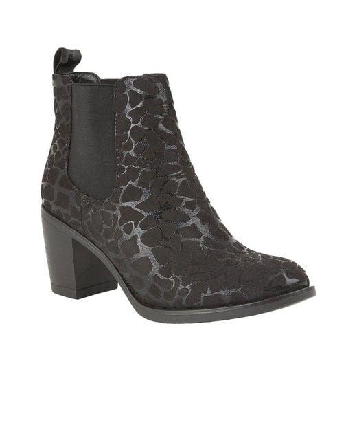 Lotus - Black Ennis Womens Chelsea Boots - Lyst
