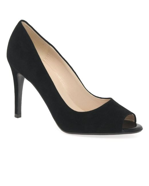 Peter Kaiser | Black Anna Womens Peep Toe Court Shoes | Lyst