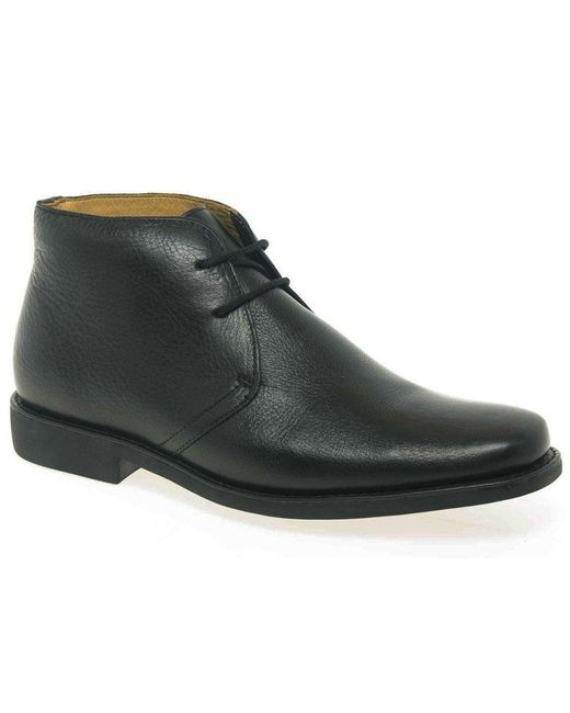 Anatomic & Co - Black Londrina Mens Formal Leather Chukka Boots for Men - Lyst