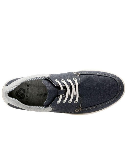 f95286bd ... Clarks - Blue Step Isle Lace Mens Casual Shoes for Men - Lyst ...