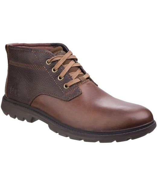 Caterpillar - Brown Trenton Mens Lace-up Boots for Men - Lyst