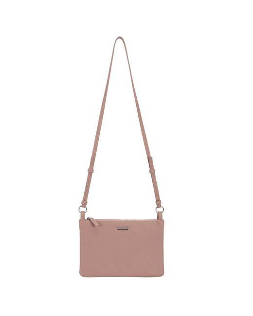 David Jones - Pink Coral Womens Messenger Handbag - Lyst