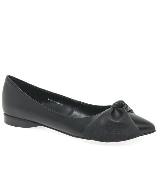 Bata Shoes Uk Flat Black