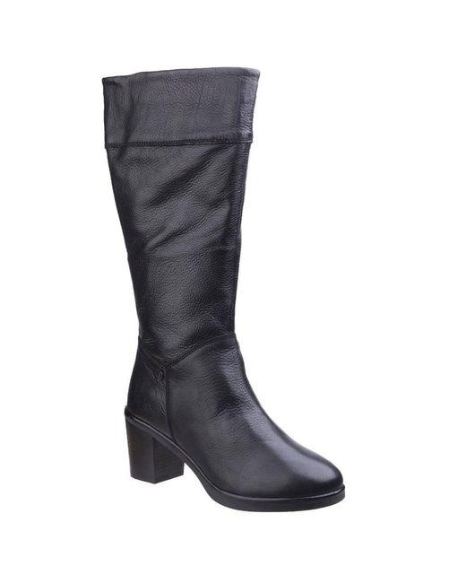 Hush Puppies - Black Saun Olivya Womens Long Boots - Lyst