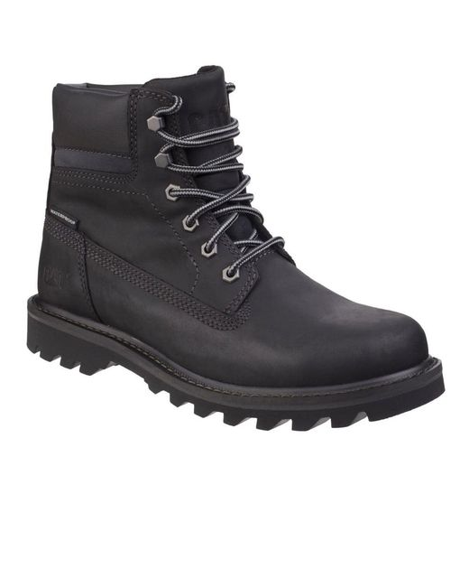 Caterpillar - Black Deplete Waterproof Mens Lace-up Boot for Men - Lyst
