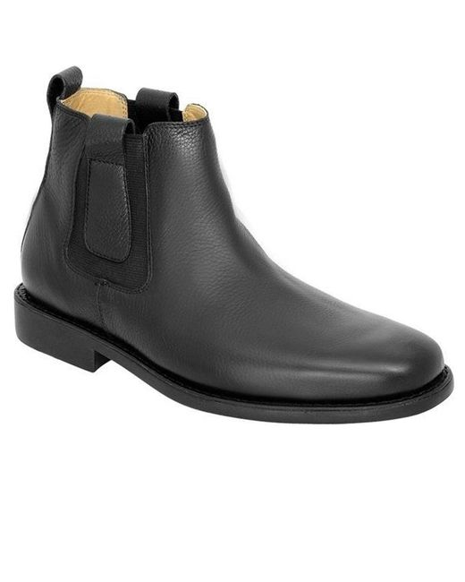 Anatomic & Co - Black Natal Mens Leather Chelsea Boots for Men - Lyst