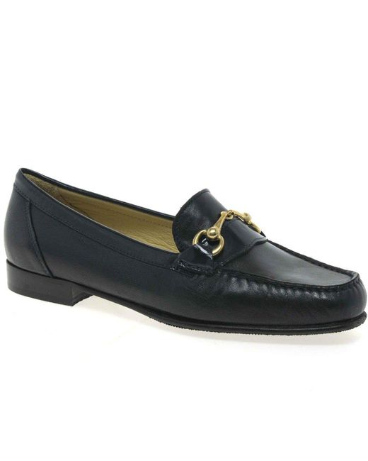 Charles Clinkard - Snaffle Womens Casual Shoes Women's Loafers / Casual Shoes In Blue - Lyst