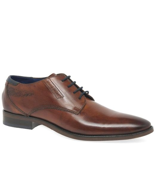 Bugatti - Brown Berlin Mens Formal Leather Lace Up Shoes for Men - Lyst