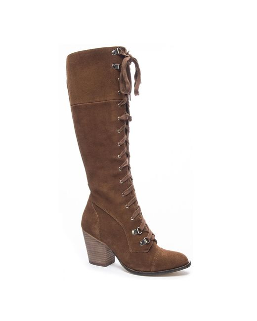 Chinese Laundry - Brown Keepsake Lace Up Boot - Lyst