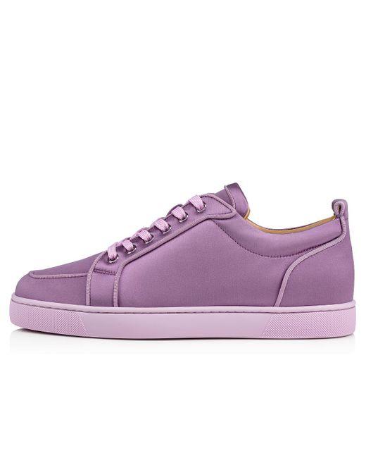 8cd03a75da06 ... Lyst Christian Louboutin - Purple Rantulow Orlato Men s Flat for Men ...