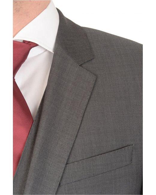 680cbf5e7654bd ... BOSS - Gray Hugo Huge3/genius We 3 Piece Suit Charcoal for Men - Lyst  ...