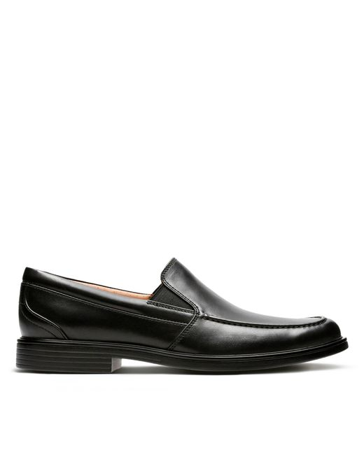 Clarks - Black Un Aldric Slip for Men - Lyst