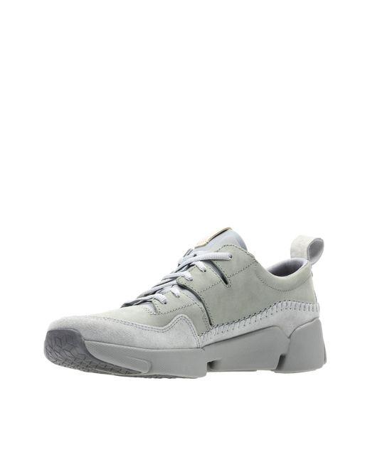 ... Clarks - Gray Tri Active Run for Men - Lyst ... d713f11435e
