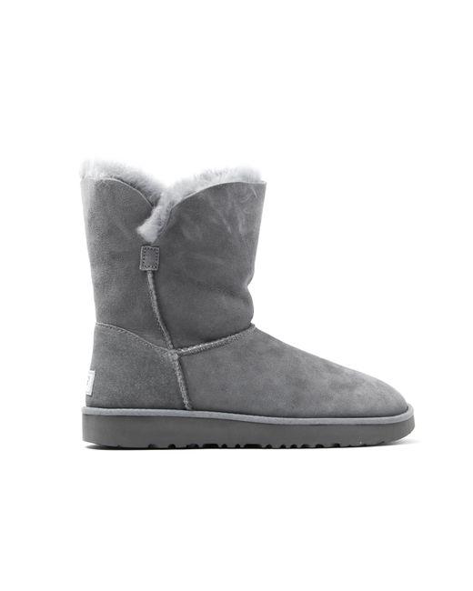 Ugg | Gray Classic Cuff Short Boots | Lyst