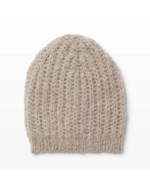 Club Monaco | Natural Daylina Knit Hat | Lyst