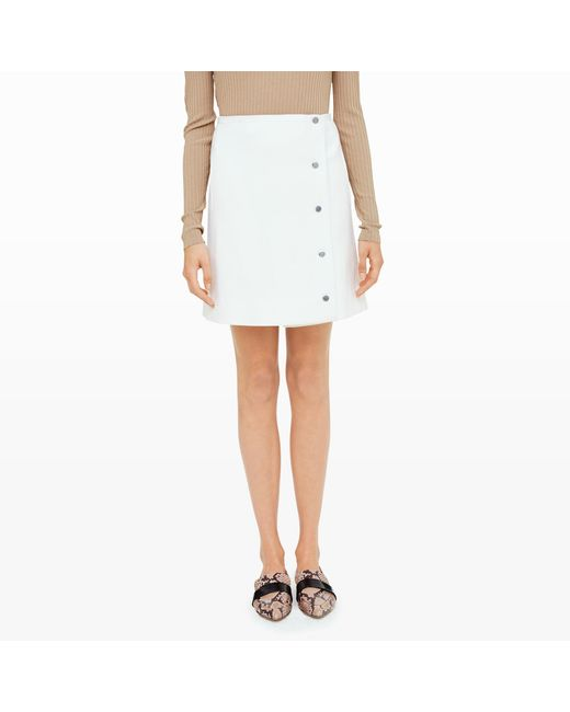 Club Monaco | White Keoki Skirt | Lyst