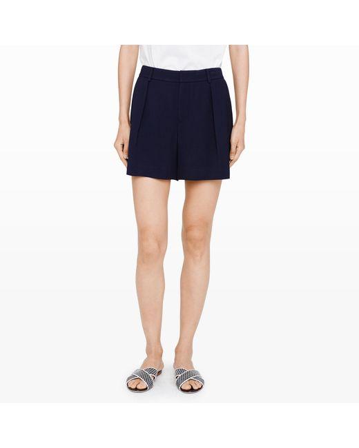 Club Monaco | Blue Seena Shorts | Lyst