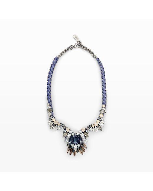 Rada' | Black Ribbon Necklace | Lyst