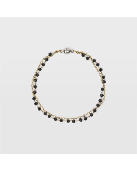 Club Monaco   Black Sparkle Bracelet   Lyst
