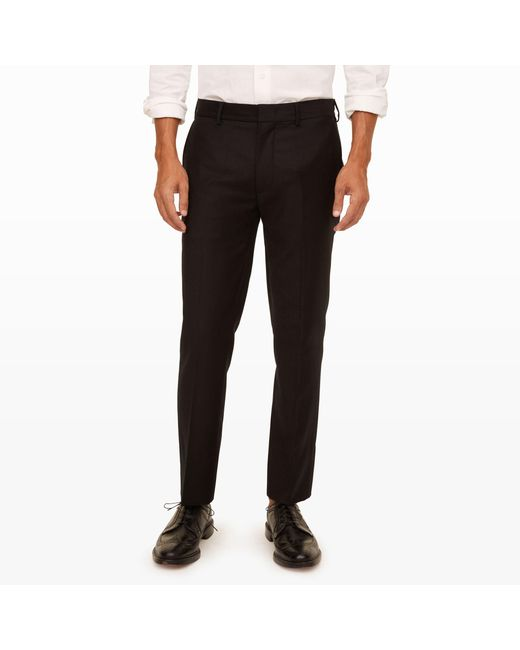 Club Monaco | Black Connor Wool Dress Trouser for Men | Lyst