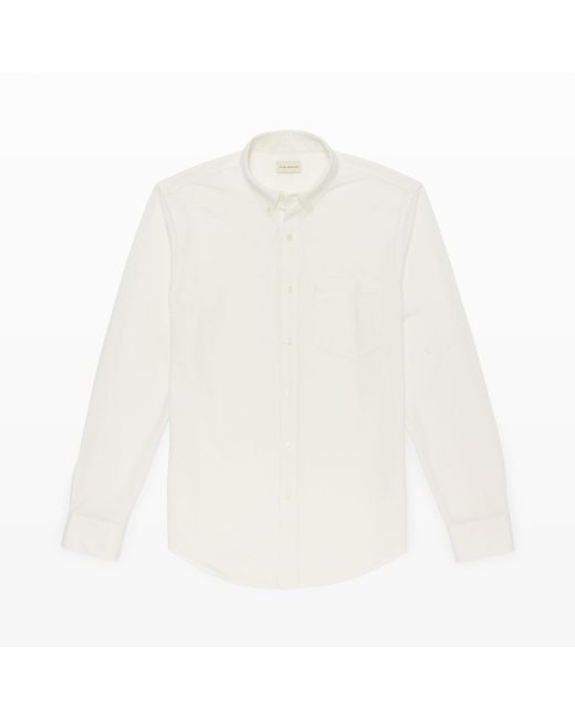 Club Monaco | White Long-sleeve Knit Shirt for Men | Lyst