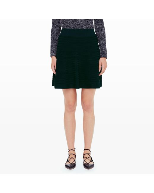 Club Monaco | Green Cheska Sweater Skirt | Lyst