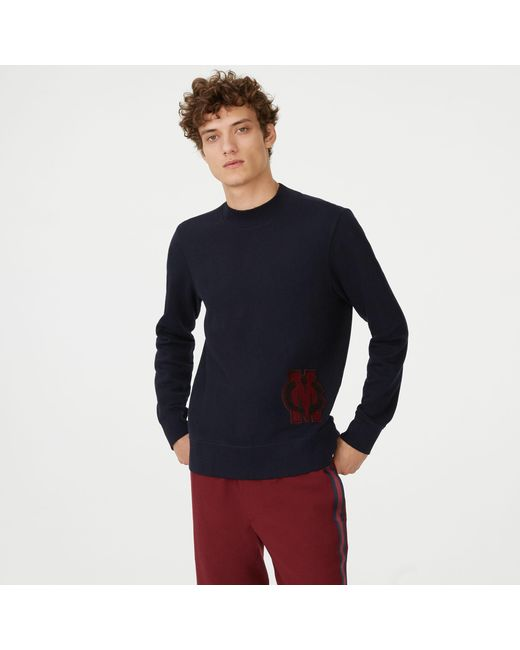 Club Monaco - Blue Crest Patch Sweatshirt for Men - Lyst