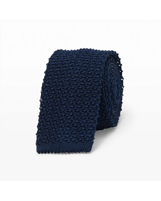 Club Monaco - Blue Seed Stitch Tie for Men - Lyst